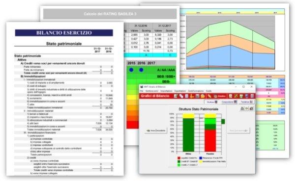 report bilanci aziende online