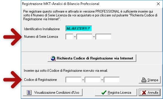 Come installare software Analisi di Bilancio registrazione