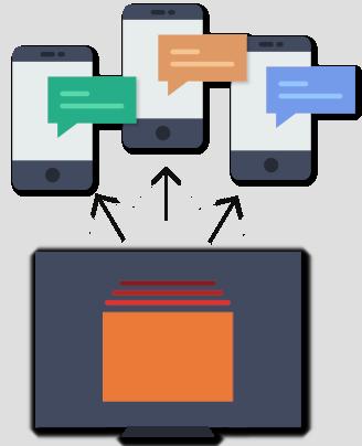SMS online massivi
