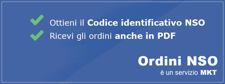 codice identificativo nso