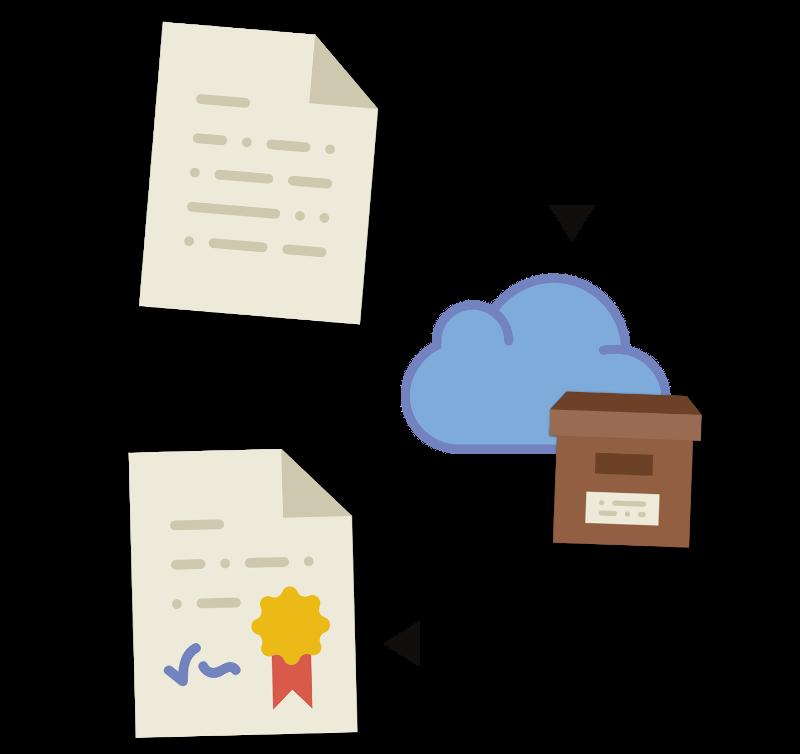 conservazione digitale online documenti