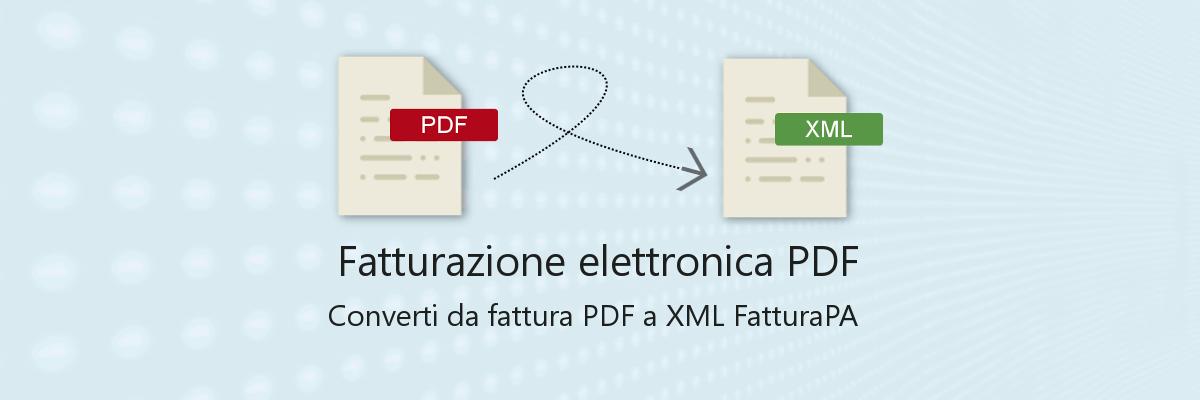 fatturazione elettronica PDF