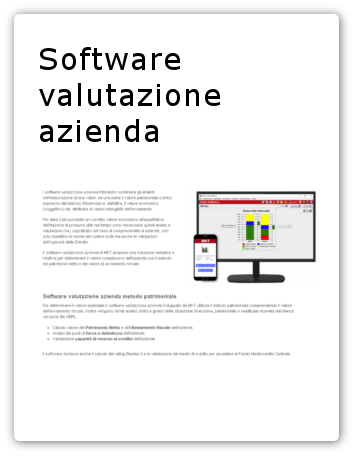 software valutazione azienda link
