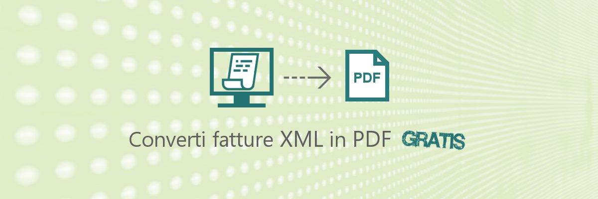 visualizzare fattura elettronica PDF